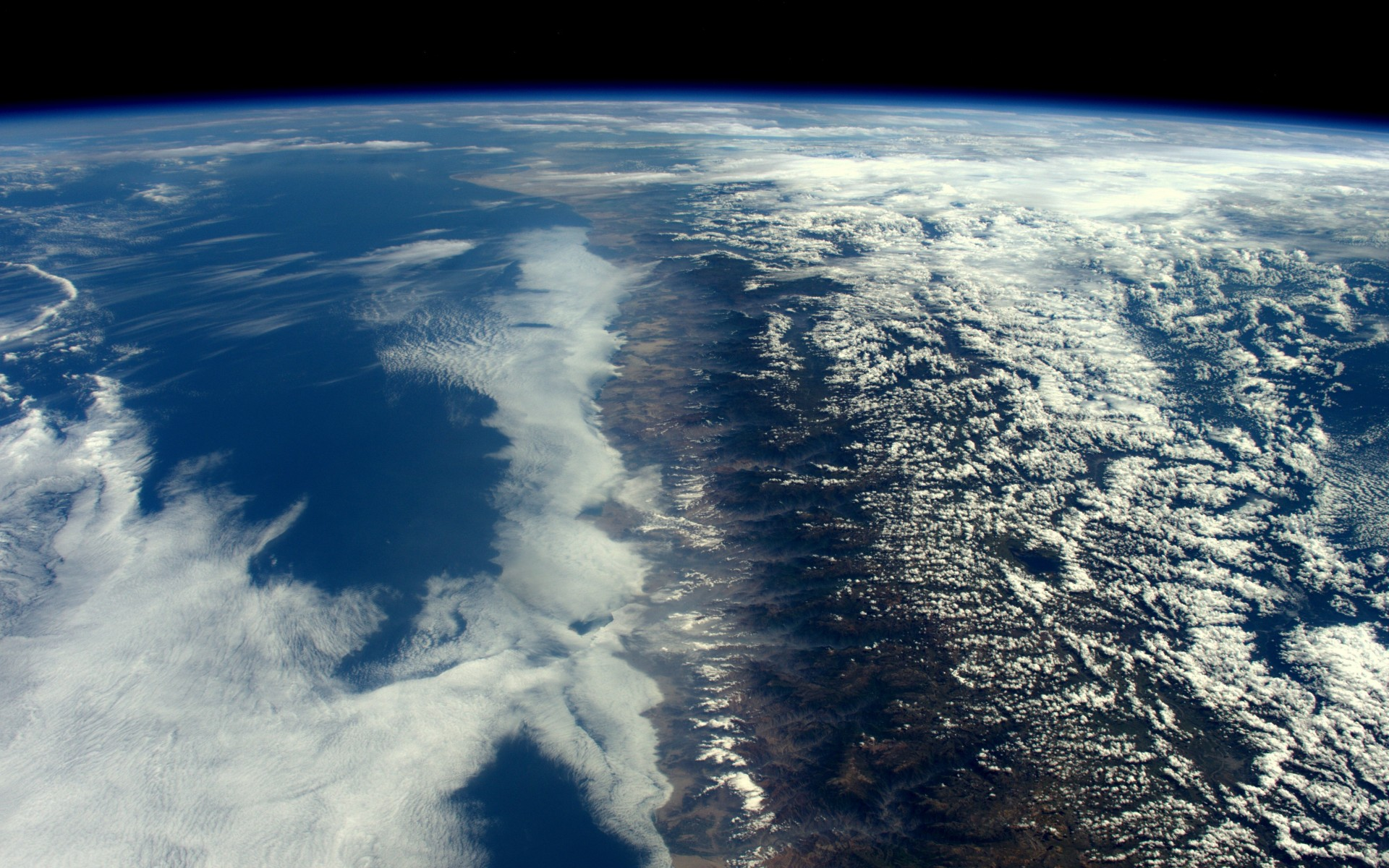 water, clouds, plannet earth, space